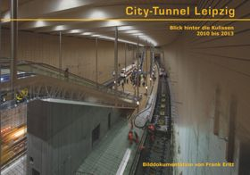 City-Tunnel Leipzig Bildband / Buch